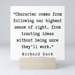 64  | Richard Bach Quotes | 190916 Mini Art Print