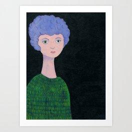Margaret (Doll 1) Art Print