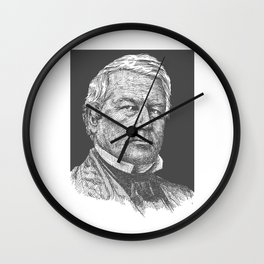 Millard fillmore Wall Clock