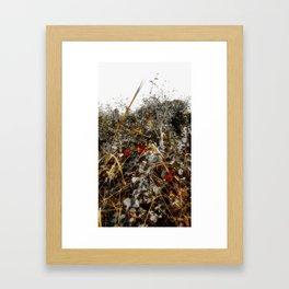 The Cold Heart of February Framed Art Print