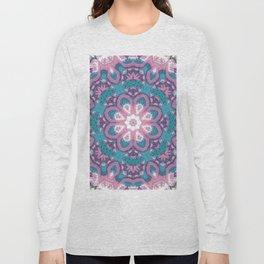 Flower Mandala in pastel Long Sleeve T-shirt