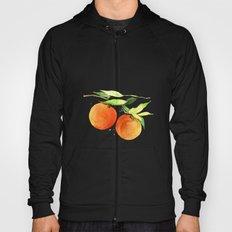 Watercolor oranges Hoody