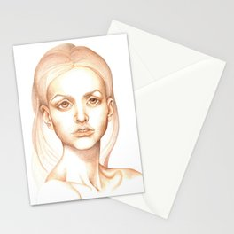 Magic, values sketch Stationery Cards