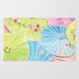 Chinese Umbrellas Rug