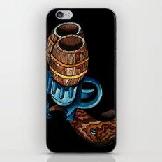 Black Double Barrell iPhone & iPod Skin