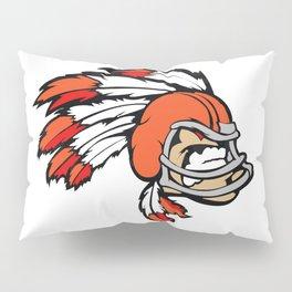 American indian man. Mascot. Kentucky. Pillow Sham