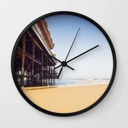 Summer Pier - Blackpool Wall Clock