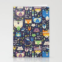wild things Stationery Cards featuring Wild Things by Paula McGloin Studio