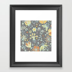 Mellow Yellow Framed Art Print