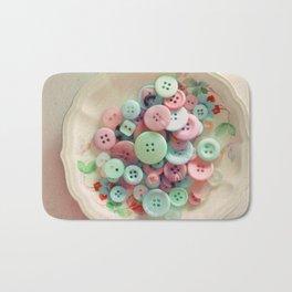 Bowl of Buttons Bath Mat