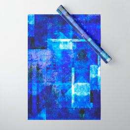Sapphire Nebulæ Wrapping Paper