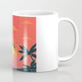 Good Life summer beach paradise Coffee Mug