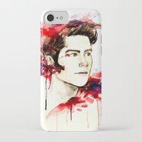 stiles stilinski iPhone & iPod Cases featuring Stiles Stilinski  by Sterekism
