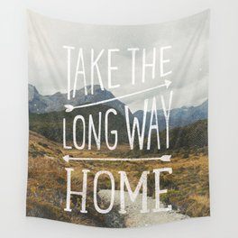 TAKE THE LONG WAY Wall Tapestry