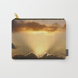 Sun rays and dark clouds Carry-All Pouch