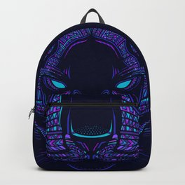 Aztec Panther Face Backpack