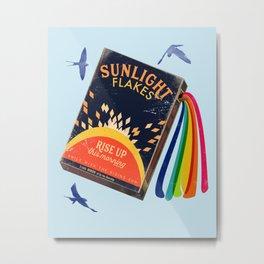 Rise up sunlight  Metal Print