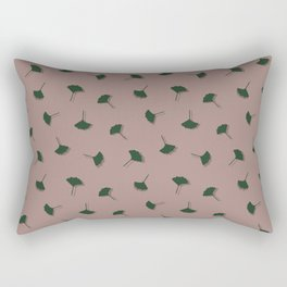 Ginkgo Biloba Leaves Rectangular Pillow