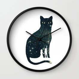 4 Moons Wall Clock