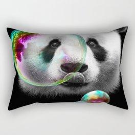 PANDA BUBLEMAKER Rectangular Pillow