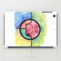 transistor iPad Cases featuring Watercolor NPN BJT by EEShirts
