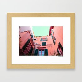 Living in Color Framed Art Print