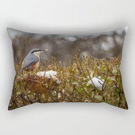 Nuthatch. Rectangular Pillow