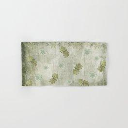 Sage Green Wallflowers Hand & Bath Towel