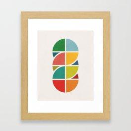 Interlaced 3 Framed Art Print