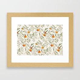 Strawberry tree - Trailing pattern Framed Art Print