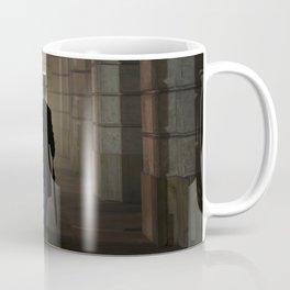 Title  Evening Walk In The Archway Coffee Mug