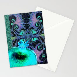 Armenian motifs/oldie/pomegranate Stationery Cards