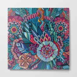 flowers /Agat/ Metal Print