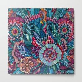 flowers /Agat/ Metal Print