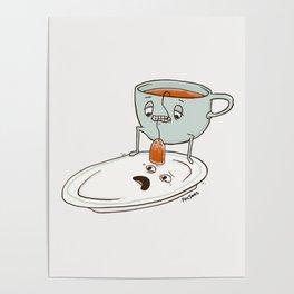 Tea Baggin' Poster
