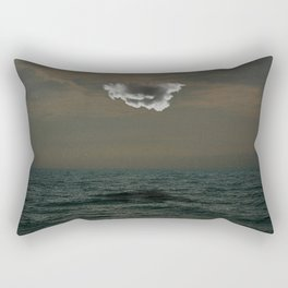 Separated From The Sea Rectangular Pillow