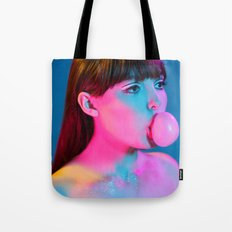 Bubblegum Yum Pop Tote Bag