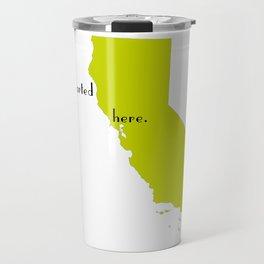 san francisco love Travel Mug