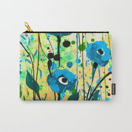 Poppy Dreams No.4f by Kathy Morton Stanion Carry-All Pouch