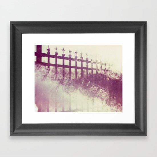 Interstice Framed Art Print