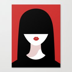 Lady Lovely Canvas Print
