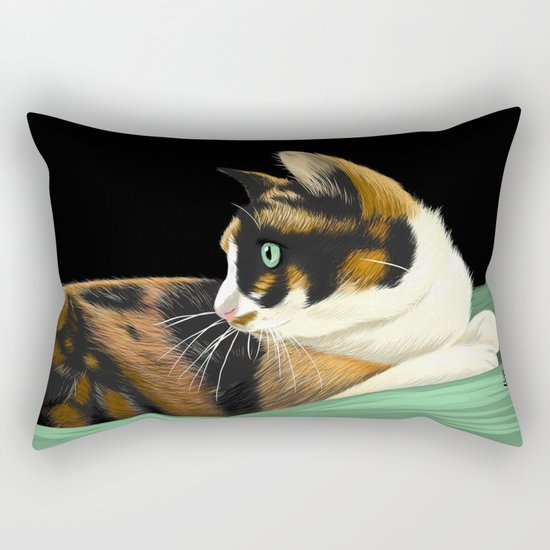 My lovely cat Rectangular Pillow