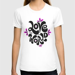 Love the world T-shirt