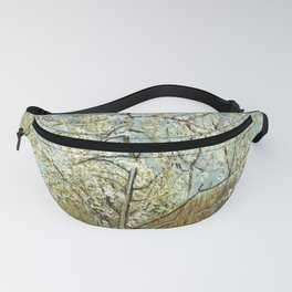 Vincent Van Gogh Peach Tree In Blossom Fanny Pack