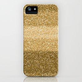 Glitter Glittery Copper Bronze Gold iPhone Case