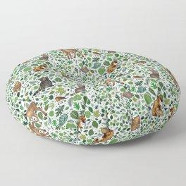 Woodland Animal Friends Floor Pillow