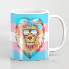 Trans Lion Pride Coffee Mug