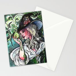 Poison Spell Stationery Cards