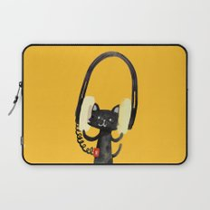 I Love Huge Headphone Laptop Sleeve