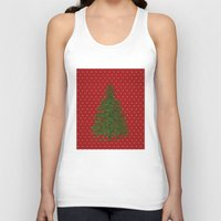 christmas tree Tank Tops featuring *(Christmas) Tree* by Mr and Mrs Quirynen